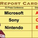 The Big Three: Grades At E3