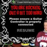 When Guitar Hero went wrong…
