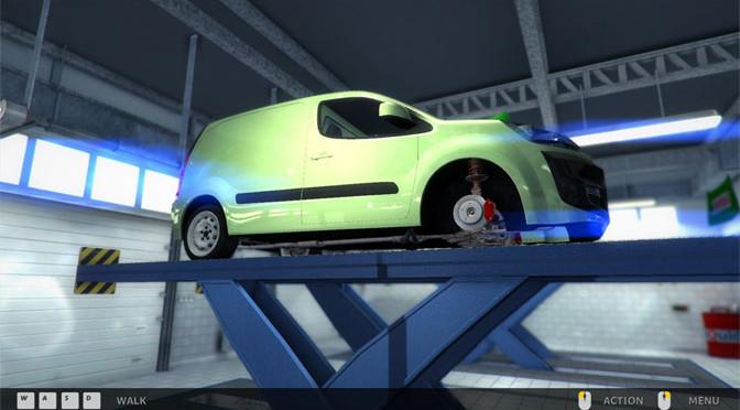 Car Mechanic Simulator Idles Along
