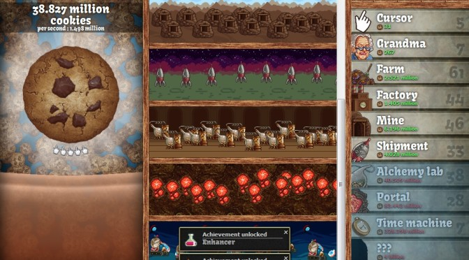 Is Cookie Clicker A Message Game?
