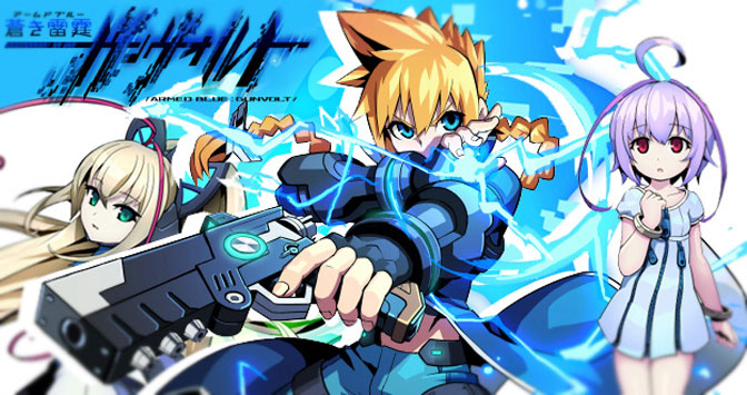 Behold The Mighty Azure Striker Gunvolt
