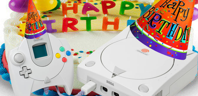 Happy Birthday, Mr. Sega Dreamcast