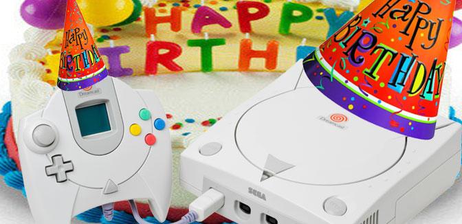 Happy Birthday, Mr. Sega Dreamcast
