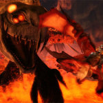Taking Flight With Crimson Dragon