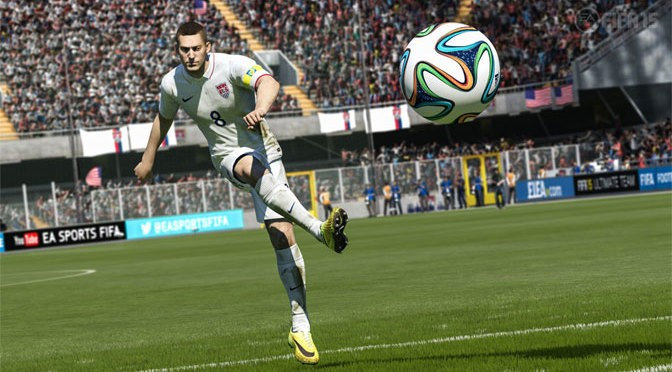 FIFA 15 Takes A Penalty Kick