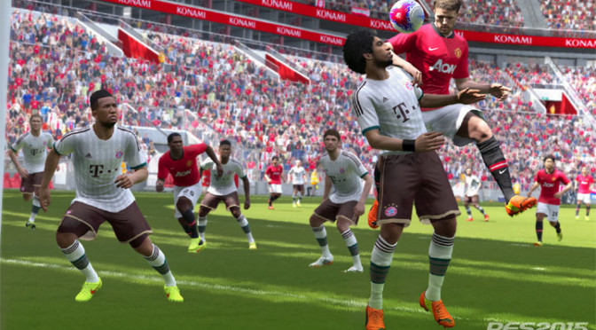 In PES 2015, the whole team work together, on both offense and defense, making for a very realistic pro soccer experience.