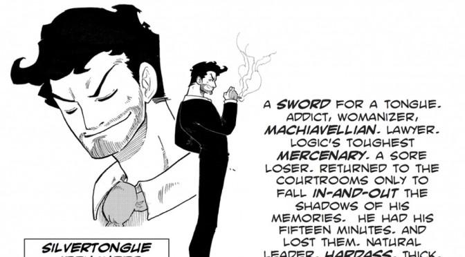 Manga Monday: Silvertongue by Little Nando