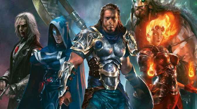 Ringing in the New Year with Magic: The Gathering