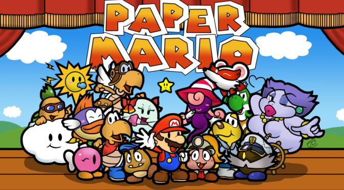 Retro Game Friday: Paper Mario