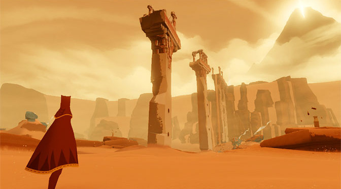 Journey, one of the best indie titles, and well, it does kind of look like a Punk concert from the 70s.