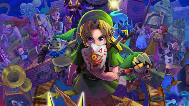 Returning to The Legend of Zelda: Majora's Mask 3D