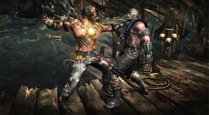 Mortal Kombat X Brings The Two-Fisted Action