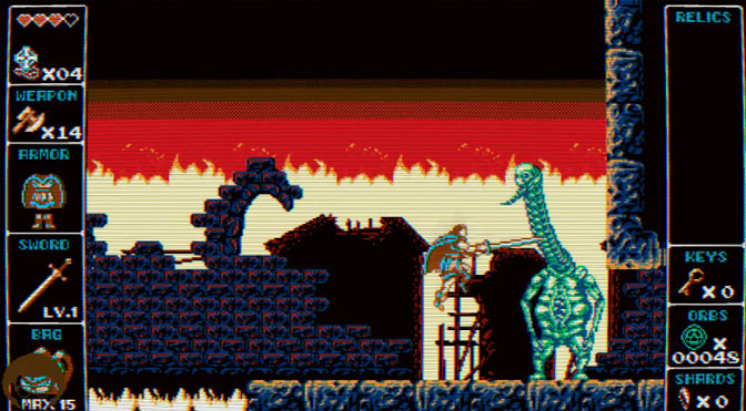 Odallus The Dark Call Is Old School Cool