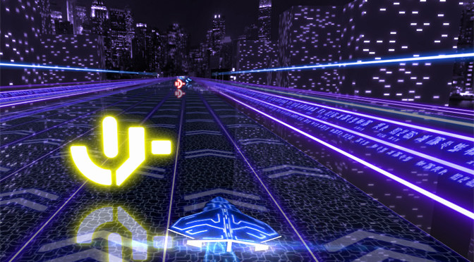 Mobile Racing with Neon City