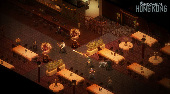 Harebrained Schemes' Shadowrun Hong Kong Now Available
