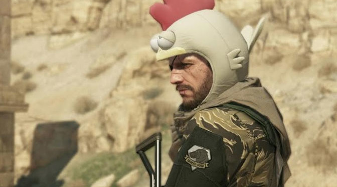 Todd, is that you in the chicken hat? Nope, no jaunty poultry headgear for him!