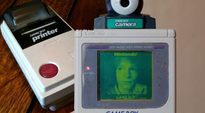 Retro Game Friday: GameBoy Camera