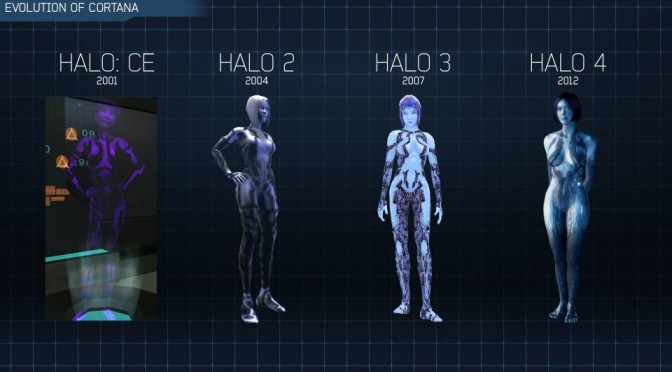 Cortana from Halo games