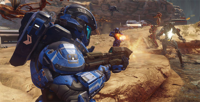 Hello To Action With Halo 5: Guardians