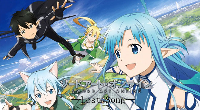 Flying High With Sword Art Online: Lost Song