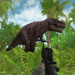 Trying to Survive Dinosaur Hunter: Survival Game