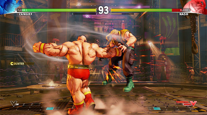 Street Fighter V Launches