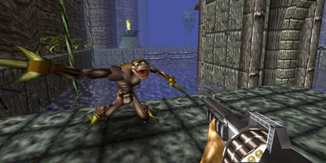 Remade Turok offers a Remastered Jurassic World