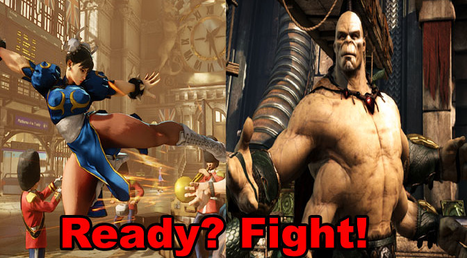 Tale of the Tape: Two Very Different Fighting Games