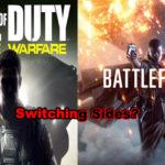 Infinite War or Battlefield 1: Switching sides?
