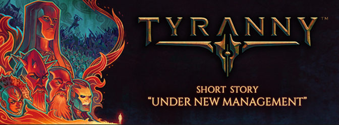 Short Stories Launched To Support Obsidian's Pending Tyranny RPG