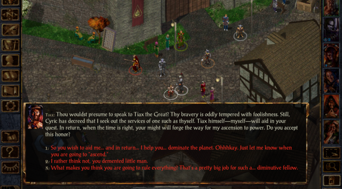 Retro Game Friday: Baldur's Gate