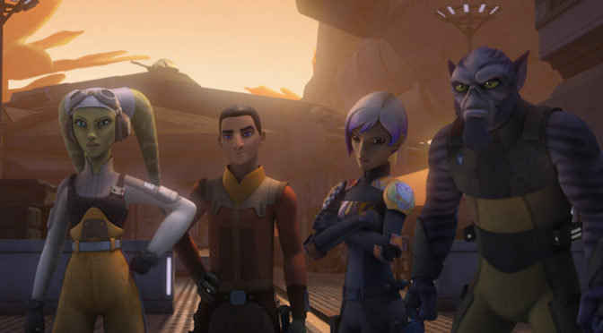 A Star Wars Rebels Season Four Sneak Peek