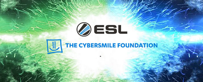 Cybersmile and ESL Announce Abuse-Fighting Charity Partnership