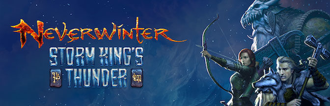 Neverwinter: Storm King's Thunder Rumbles to Consoles In October