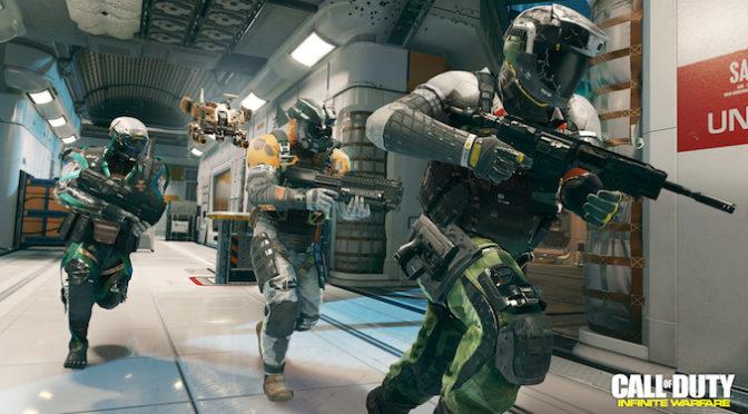 Having a Blast in Call of Duty: Infinite Warfare Multiplayer Beta