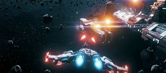 EVERSPACE Game Preview Deploys to Windows