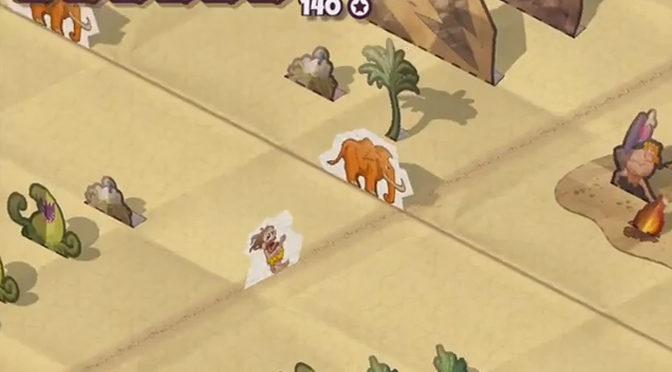Run Away From Paper Run Caveman