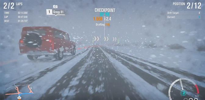 Let's Survive Forza Horizon 3's Blizzard Mountain DLC