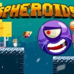 Destroying Giant Bouncing Aliens In Spheroids