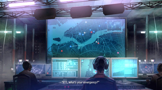 Emergency Action in 911 Operator Simulation Game