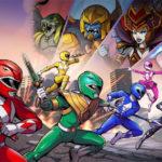 Nostalgic Fighting with Power Rangers Mega Battle
