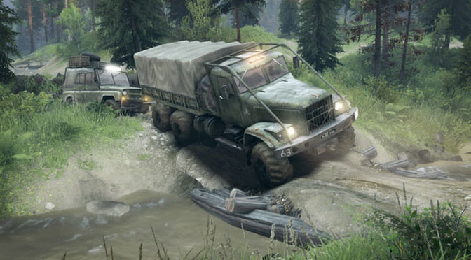 Spintires Gets Physical Release Through Wal-Mart