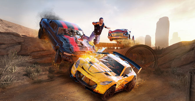 Destruction Derby Style Racing Returns in Flatout 4: Total Insanity