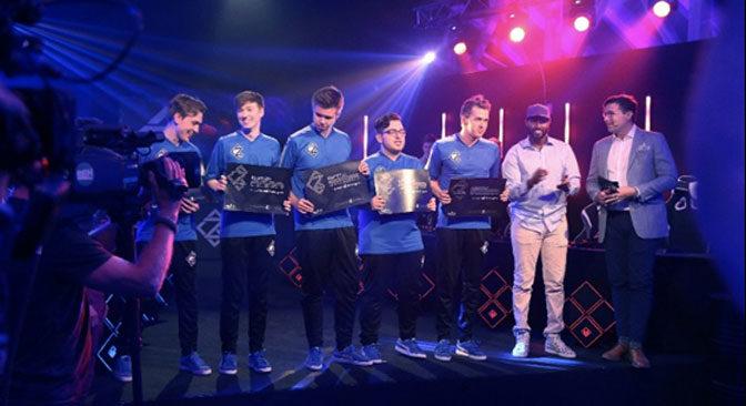 SpawN Team Blue Wins GAMERZ Reality eSports Series
