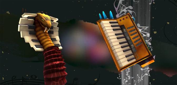Music Themed RPG AereA Serenading Consoles