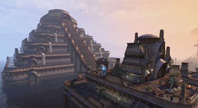 Morrowind Chapter Added To The Elder Scrolls Online RPG