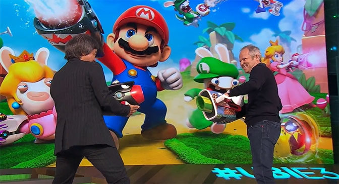 Ubisoft and Nintendo Making Mario + Rabbids Kingdom Battle