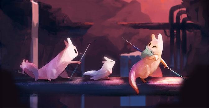 Saving Slugcats in Rain World's Brutal Beauty