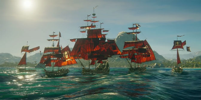 Skull and Bones Game Challenges Gamers To Become Pirates