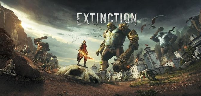 New Ogre Fighting Fast-Paced Game Extinction Announced
